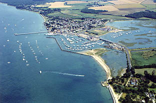 Aerial Photograph of Yarmouth Harbour